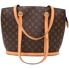 Louis Vuitton Babylone Monogram Canvas Tote Shoulder Bag