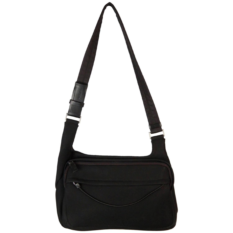 76281950b10f low cost prada black neoprene fabric shoulder bag for sale 99b11 ff156