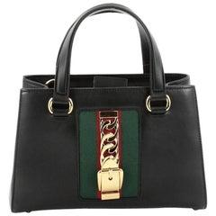 Gucci Sylvie Convertible Satchel Leather Medium