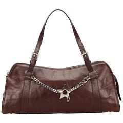 Dior Brown Leather Handbag