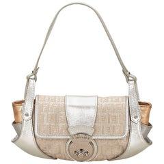 Fendi Sliver Zucca Handbag