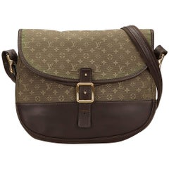 Louis Vuitton Green Mini Lin Berangere