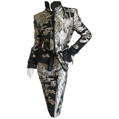 Yves Saint Laurent by Tom Ford 2004 Chinoiserie Jacquard Suit