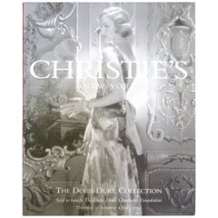 Christie's Doris Duke Estate Catalogues in Box  2004
