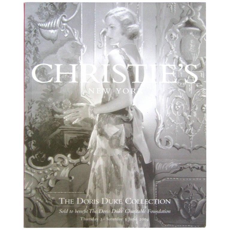 Christie's Doris Duke Estate Catalogues in Box  2004