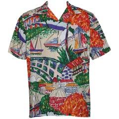 Ralph Lauren Polo Boat Print Shirt