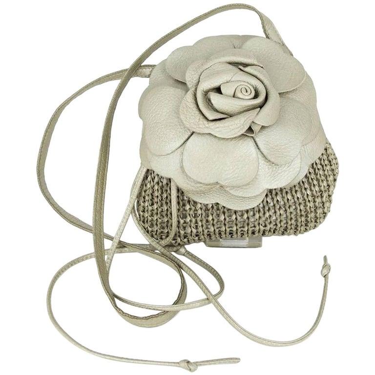 Bottega Veneta Flower Shoulder Bag