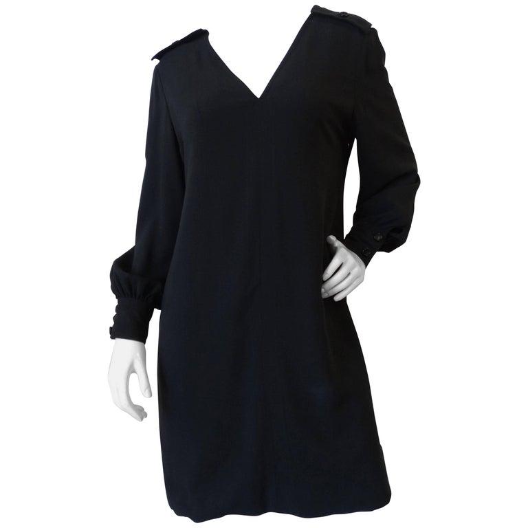 1960s John Galanos Little Black Dress