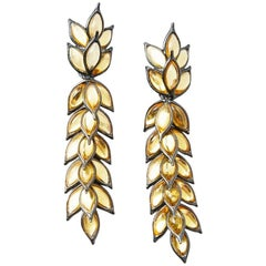 Yves Saint Laurent Articulated Drop Earrings