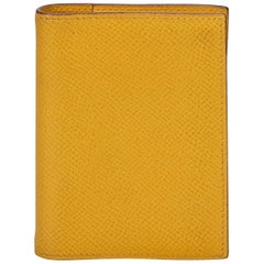 Hermes Yellow Agenda PM Notebook Cover