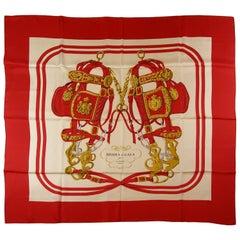 Difficulte to find Hermès Made in France Brides De Gala Scarf Silk140 cm / BN