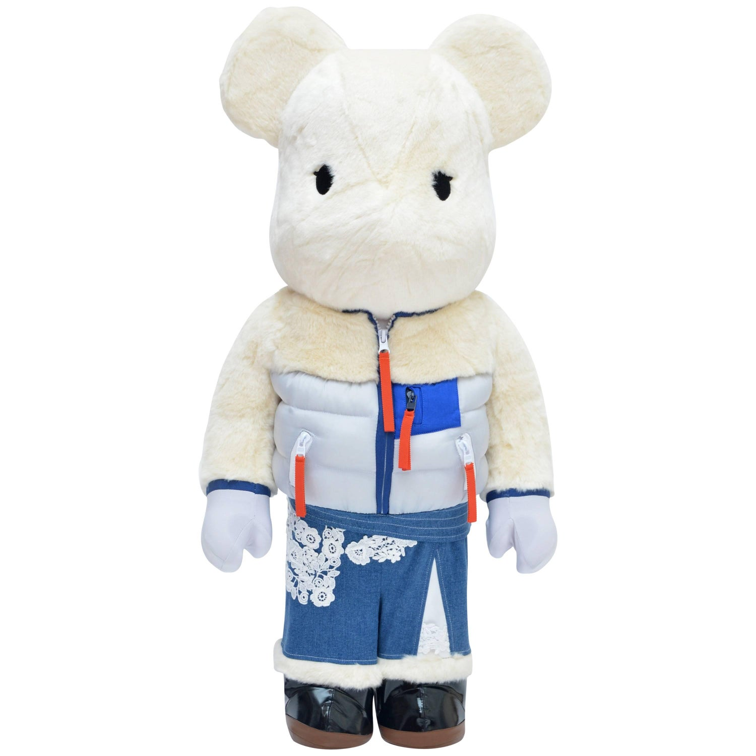 f06ba386da Sacai X Medicom Bearbrick 1000% Colette Paris New For Collectors Or Decor