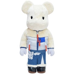 Sacai X Medicom Bearbrick 1000% Colette Paris New For Collectors Or Decor