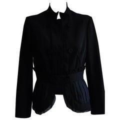 Philosophy di Alberta Ferretti Black Evening Jacket (48ITL)