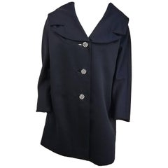 1950s S. Eisenberg Dolman Coat