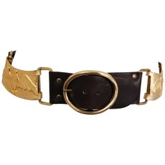 1970s Castlecliff Golden Eagles & Leather Belt