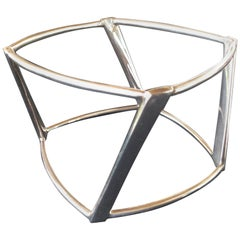 Frank Gehry for Tiffany. Sterling Silver Wide Torque Bangle.  2006.