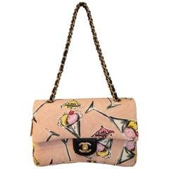 """Rare Chanel 2003-2004 Cruise Collection """"Rose Bonbon"""" Pink Bag"""