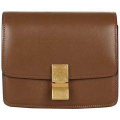 2011 Celine Brown Smooth Calfskin Small Box Bag