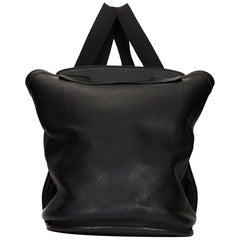1998 Hermes Black Togo Leather Vintage Sherpa Backpack