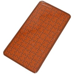 Hermes New Orange Puzzle Kid's Men's Toys Games Playing Cards in Box