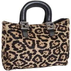 FENDI Leather Bag in Foal Style