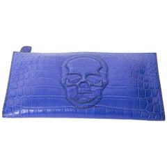Lucien Pellat Finet Crocodile Clutch