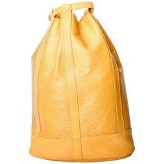 Louis Vuitton Epi Duffle Bag