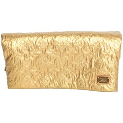 Louis Vuitton Gold Limelight Clutch