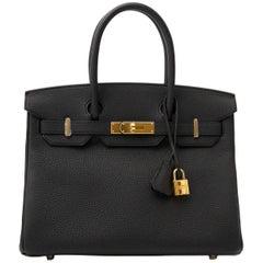 Hermès Birkin 30 Togo Black GHW