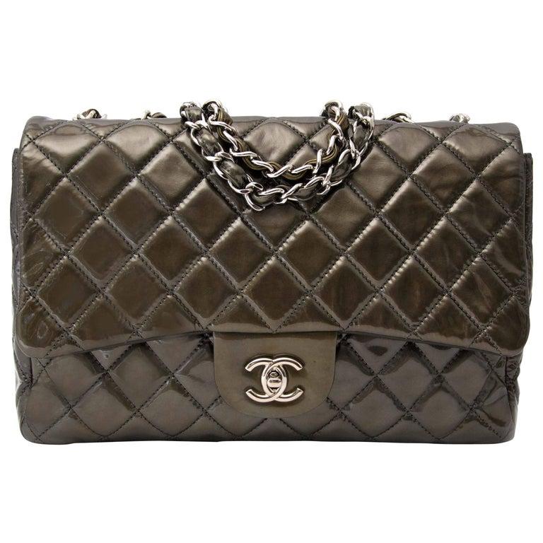 969ebf72635967 Chanel Patent Leather Handbag - Foto Handbag All Collections ...