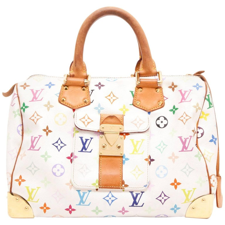 LOUIS VUITTON 'Speedy 30' Bag in Murakami Canvas