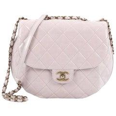 Chanel Dubai Messenger Bag Quilted Aged Calfskin Medium