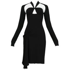 Tom Ford for Gucci Black Iconic Knot Dress
