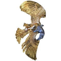 Christopher Ross Massive Bald Eagle Belt Buckle