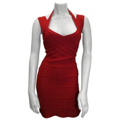 Herve Leger NWT Red Dress