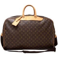 Louis Vuitton Alize 2 Poches Monogram Canvas Travel Bag + Strap