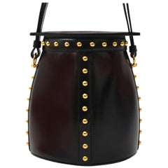 Hermes Farming Clouté Bag Box Calf Black