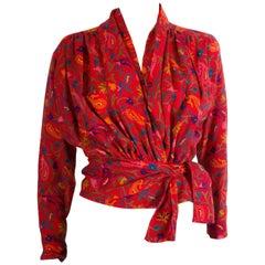 Kenzo Vintage  Wool Top /Jacket