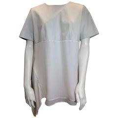 Anveglosa Silk & Leather Blouse