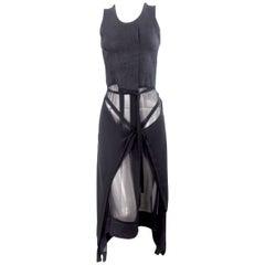 Comme des Garcons 1994 Collection Apron Skirt Dress