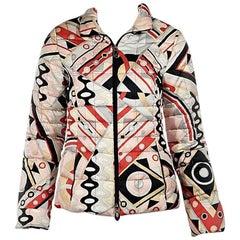 Multicolor Emilio Pucci Printed Puffer Jacket