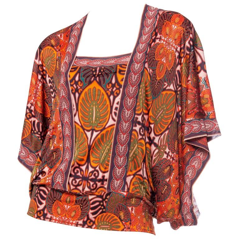 Jean Paul Gaultier Kimono Sleeve Top
