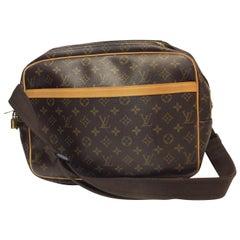 Louis Vuitton Monogram Reporter Crossbody Briefcase
