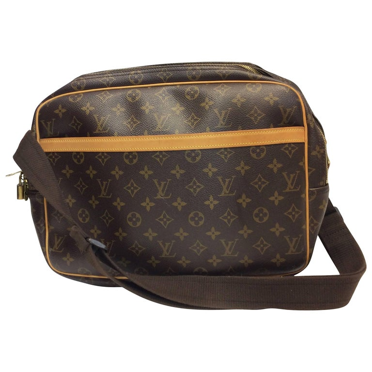 Louis Vuitton Monogram Reporter Crossbody Briefcase