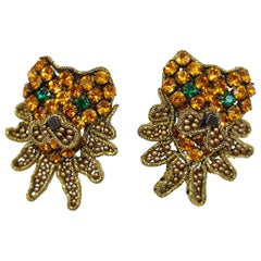 Tataborello Pierced Lion Earrings