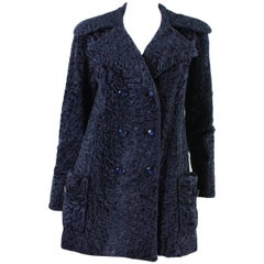 1970's Edwards-Lowell Navy Broadtail Coat