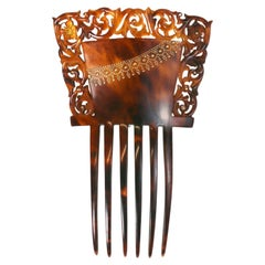 Lovely Tortoise Pique Comb Victorian