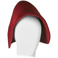 Adolfo French Early Straw Bonnet