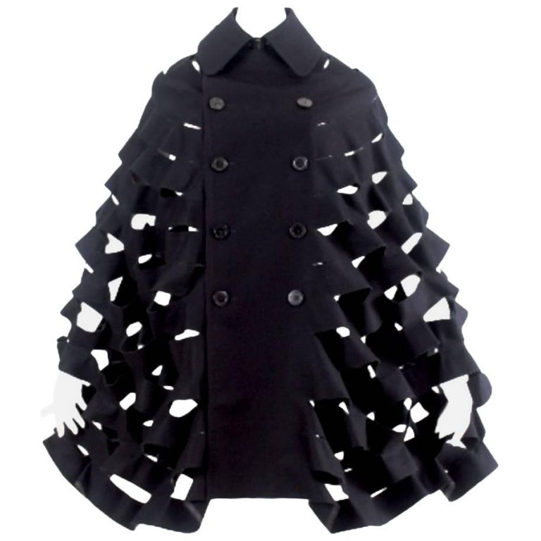 Junya Watanabe 2015 Collection Double Breasted Cape